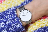 Zegarek damski Obaku Denmark bransoleta V230LXCWMC - duże 3