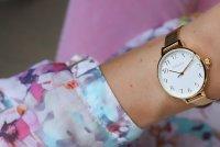 Zegarek damski Obaku Denmark bransoleta V237LXGIMG - duże 3