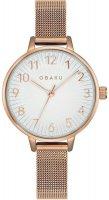 Zegarek damski Obaku Denmark bransoleta V237LXVIMV - duże 1