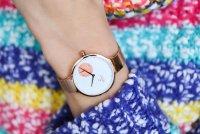Zegarek damski Obaku Denmark pasek V201LDVWMV - duże 5