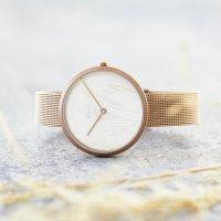 Zegarek damski Obaku Denmark bransoleta V219LXVHMV - duże 2