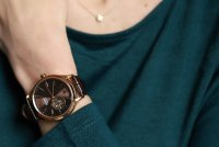 Zegarek damski Orient contemporary FDB0A001T0 - duże 2