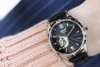 Zegarek damski Orient contemporary FDB0A004B0 - duże 3