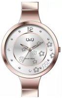 Zegarek damski QQ damskie F611-021 - duże 1