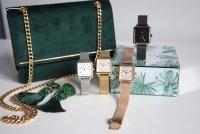 Zegarek damski QQ damskie QB51-001 - duże 4