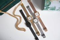 Zegarek damski QQ damskie QB51-412 - duże 2
