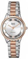 Zegarek damski QQ damskie QB69-407 - duże 1