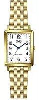 Zegarek damski QQ damskie QB95-004 - duże 1