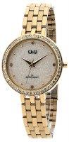 Zegarek damski QQ damskie QZ27-001 - duże 1