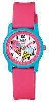 Zegarek damski QQ damskie VR41-007 - duże 1