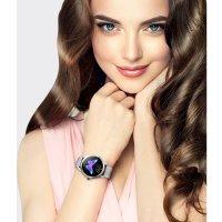 Zegarek damski Rubicon bransoleta RNBE37SIBX05AX - duże 2