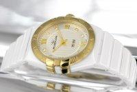 Zegarek damski Rubicon bransoleta RNPD33TMSG03BX - duże 2