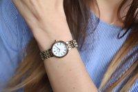 Zegarek damski Seiko classic SRZ464P1 - duże 2