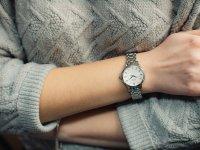 Zegarek damski Seiko classic SRZ491P1 - duże 2