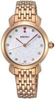 Zegarek damski Seiko classic SUR624P1 - duże 1