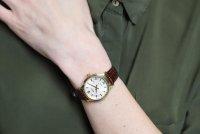 Zegarek damski Seiko classic SUR644P1 - duże 2