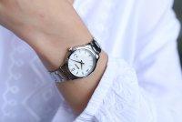 Zegarek damski Seiko classic SXDG93P1 - duże 2