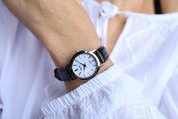 Zegarek damski Seiko solar SUP299P1 - duże 2