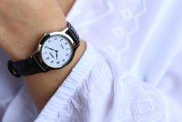 Zegarek damski Seiko solar SUP369P1 - duże 2