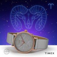Zegarek damski Timex celestial opulence TW2T87500 - duże 5