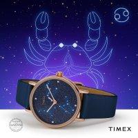 Zegarek damski Timex celestial opulence TW2T87800 - duże 5