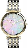 Zegarek damski Timex parisienne TW2T79400 - duże 1