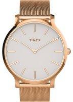 Zegarek damski Timex transcend TW2T73900 - duże 1