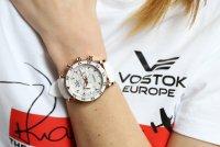 Zegarek damski Vostok Europe undine VK64-515B528 - duże 7