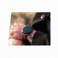Zegarek Garett Smartwatch Garett Men 3S RT brązowy skórzany 5903246287004 - duże 6