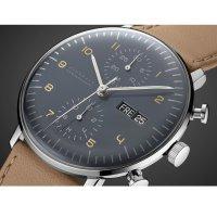 Zegarek męski Junghans max bill 027/4501.04 - duże 2