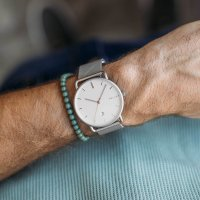 Zegarek męski Meller denka L3P-2SILVER - duże 4