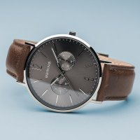Zegarek męski Bering classic 14240-309 - duże 3