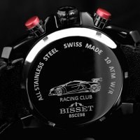 Zegarek męski Bisset sportowe BSCE98BIBX10AX - duże 4