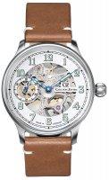 Zegarek męski Carl von Zeyten titisee CVZ0021WH - duże 1