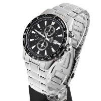 Zegarek męski Casio EDIFICE edifice momentum EF-547D-1A1VEF - duże 2