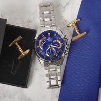 Zegarek męski Casio edifice momentum EFV-580D-2AVUEF - duże 3