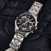 Zegarek męski Casio edifice momentum EFV-580D-2AVUEF - duże 2
