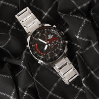 Zegarek męski Casio EDIFICE edifice premium ECB-900DB-1AER - duże 4