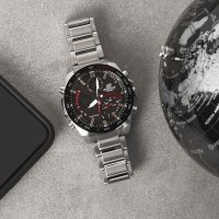 Zegarek męski Casio EDIFICE edifice premium ECB-900DB-1AER - duże 5