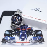 Zegarek męski Casio edifice premium EFR-559TR-2AER - duże 7