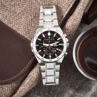 Zegarek męski Casio edifice premium EFR-564D-1AVUEF - duże 2