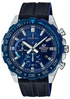 Zegarek męski Casio edifice premium EFR-566BL-2AVUEF - duże 1
