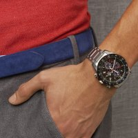 Zegarek męski Casio EDIFICE edifice premium EFS-S540DB-1AUEF - duże 7