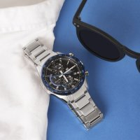 Zegarek męski Casio edifice premium EFS-S540DB-1BUEF - duże 2