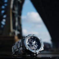 Zegarek męski Casio G-SHOCK g-shock g-steel GST-B100D-1AER - duże 3