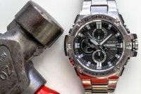 Zegarek męski Casio G-SHOCK g-shock g-steel GST-B100D-1AER - duże 5