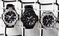 Zegarek męski Casio G-SHOCK g-shock g-steel GST-B100D-1AER - duże 8