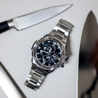 Zegarek męski Casio G-SHOCK g-shock g-steel GST-B100D-1AER - duże 2