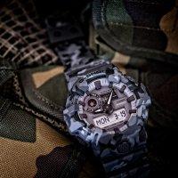Zegarek męski Casio g-shock GA-700CM-8AER - duże 2