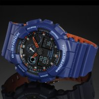 Zegarek męski Casio g-shock original GA-100L-2AER - duże 2